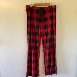 🆕 Stars Above Plaid Pajama Pants XL New